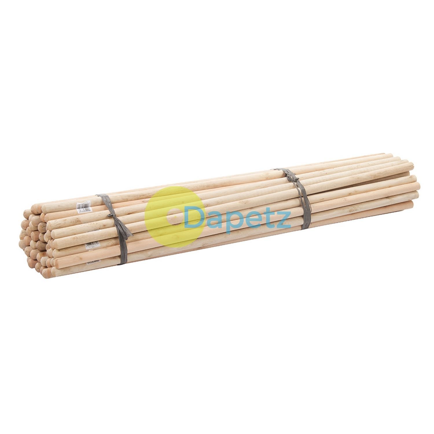 Dia 50Pce Broom Handles 4' X 1-1 8  Wooden Handles For Larger Broom Heads