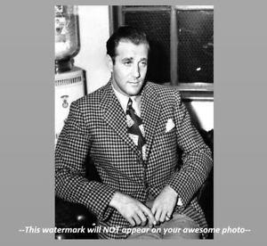 bugsy siegel photo handsome crime boss prohibition gangster meyer