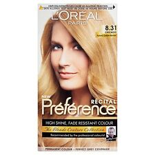 L'Oreal Paris Preference Hair Colourant Chicago 8.31