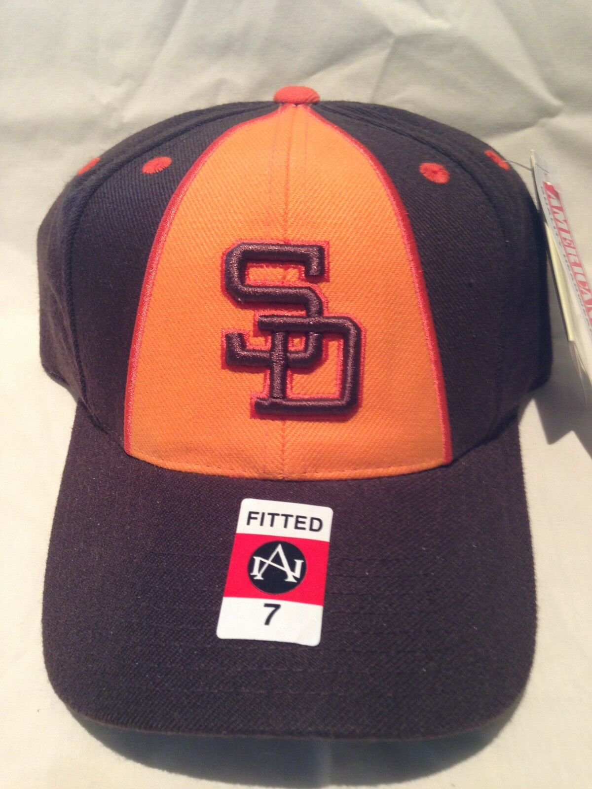 San Diego Padres RETRO mit Cap-Cooperstown Collection-7-NWT-CLASSIC K@@L LID