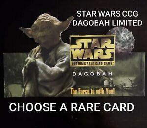 Star Wars CCG BB Limited Dagobah Son Of Skywalker