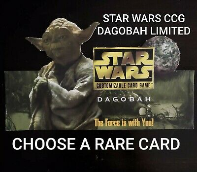 Star Wars CCG Dagobah Limited BB The Dark Path
