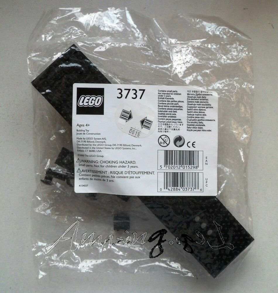 Discontinued Lego 3737 Train Accessories  Base From 2000   Factory Sealed
