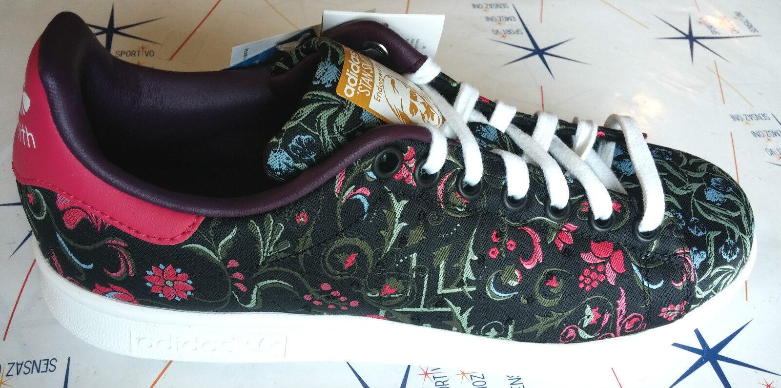 adidas smith stan smith adidas w donna nero fuxia s77347 5effd9