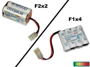 RC Toys Akkupack Eneloop 4.8V2000 mAh mit mehrere Optionen...