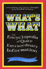 What's What: The Encyclopedia of Pointless Information by William R. Hartston (Hardback, 2005)