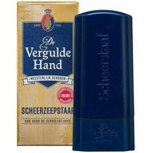 Rasierstick-VERGULDE-HAND-Scheerzeepstaaf-Rasierseife-fuer-Reise-made-in-Holland