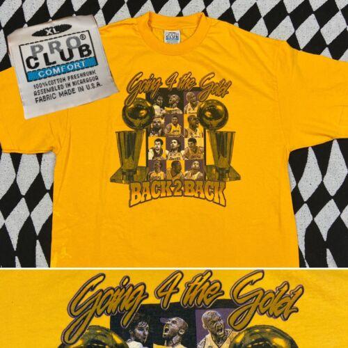Vintage Los Angeles Lakers Kobe Rap T Shirt Back 2