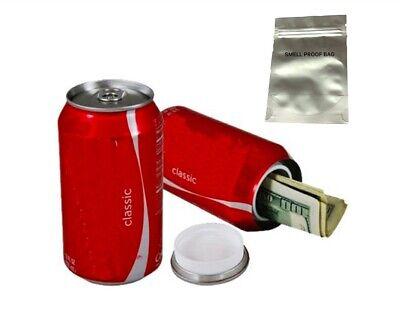 Hidden Fake Coke Can Soft Drink Cola Aluminium Container Money Pills Stash Cash