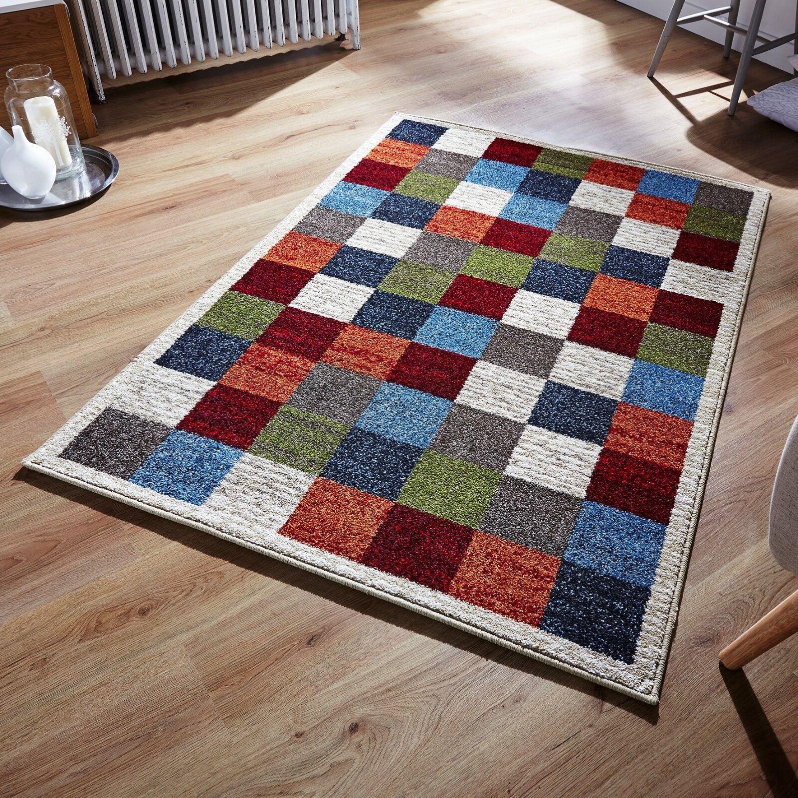 ZANTE 113 W vivaci multi Coloreeee Designer tappeto shaggy disponibile in due dimensioni