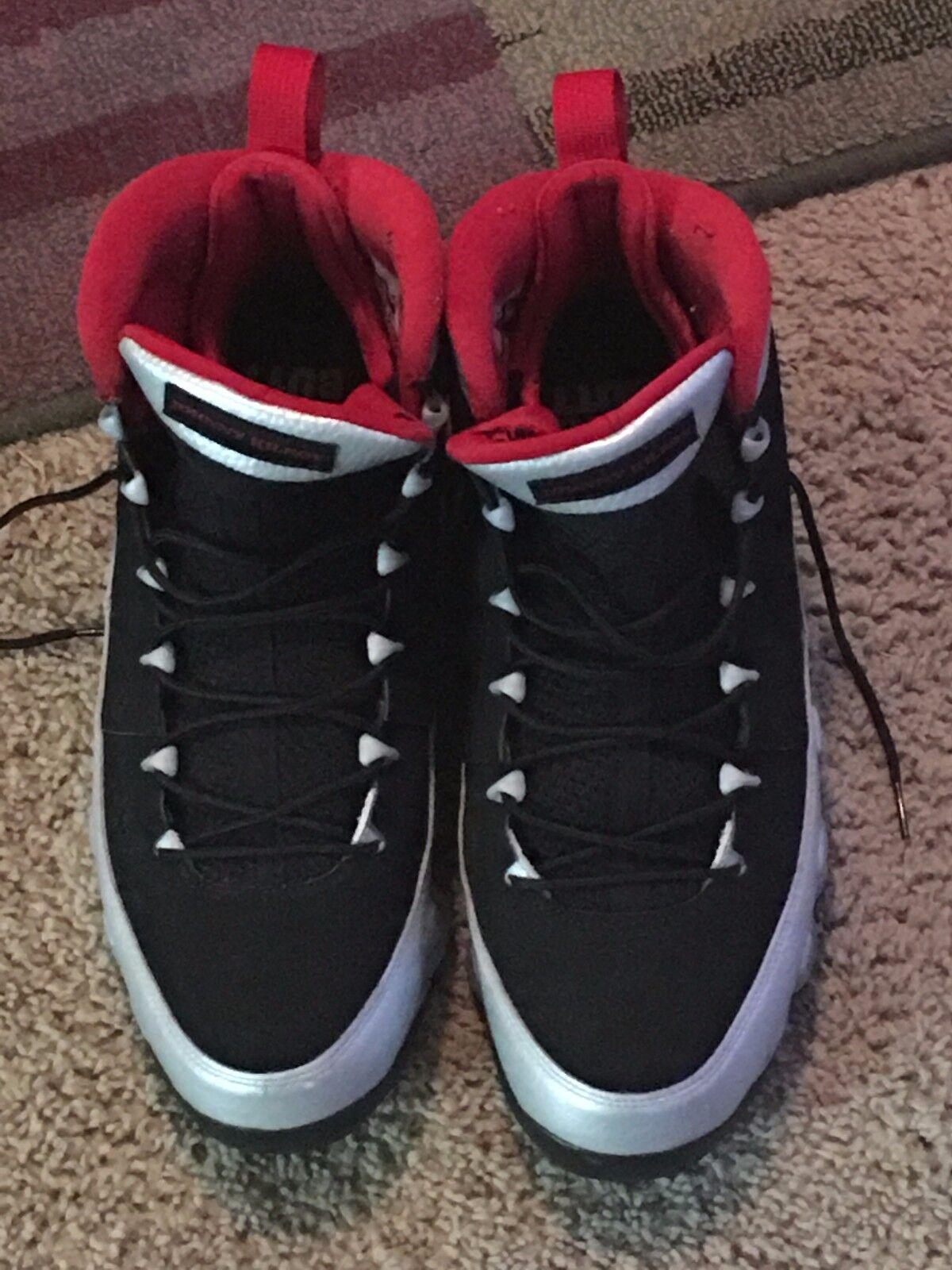 Jordan 9 Kilroy Black, silver and Red sz 13