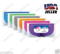 7 Pocket Bazic Expanding File & Coupon Organizer Check Size 3195 Multi Color