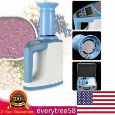 New Lds 1g Grain Moisture Meter Digital Fast Seed Cereal Analyser Tester Sale