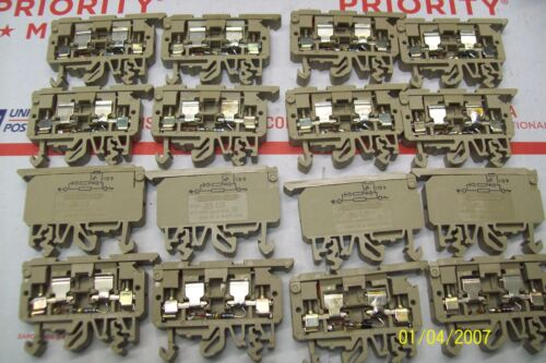 STK1 **LOT OF 10** CONTA CLIP FUSE HOLDER TERMINAL BLOCK