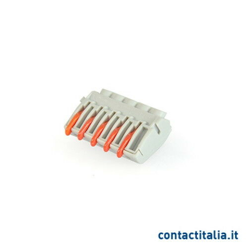 Quick coupling to terminal with Lever 5 inputs contact Italy mrl222-5