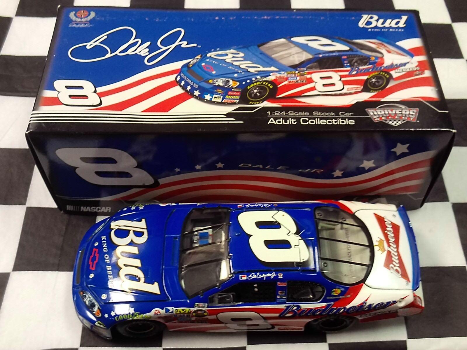 Dale Earnhardt Jr  8 Budweiser Stars & Stripes 2007 1:24 Action NIB CX878214JEJ
