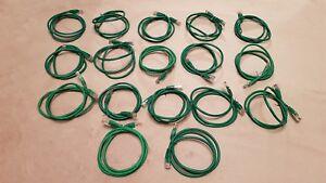 17 X Catégorie 5e Réseau Rj45 Patch Cables 1 M Botté Vert #1-afficher Le Titre D'origine Nouveau Design (En);