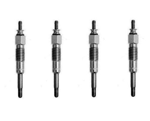 4 X MONARK Glühkerze Glühstift für FIAT DUCATO /& CROMA  glow plug