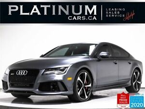 2015 Audi RS7 4.0T quattro, 560HP, AWD, NAV, CAM, HEATED