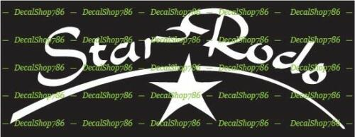Outdoor Sports Star Fishing Rods Vinyl Die-Cut Peel N/' Stick Decal//Sticker