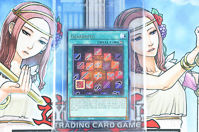 TOCH-EN016 Gearbreed1st Edition RareYuGiOh Trading Card Game TCG