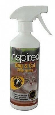 Inspired Dog and Cat Stay Away Repellent Spray 500ml Deters Animals Without Harm