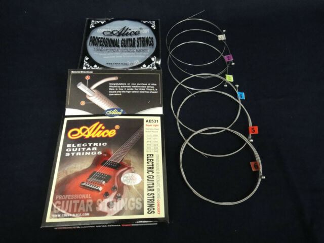 Alice AE531 Super Light Electric Guitar Steel String Set 0.009~0.042 inch