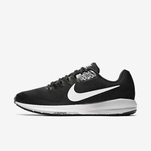 ce7d66ef1a03d Nike Air Zoom Structure 21 Black White Grey 904695-001 Men s Running ...