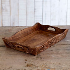 Fair Trade Handmade Mango Wood Tray - sustainable wood