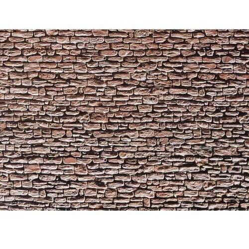 Cartulina Placa Pared Ladrillo de Piedra Natural Faller 170618 H0 250X125mm