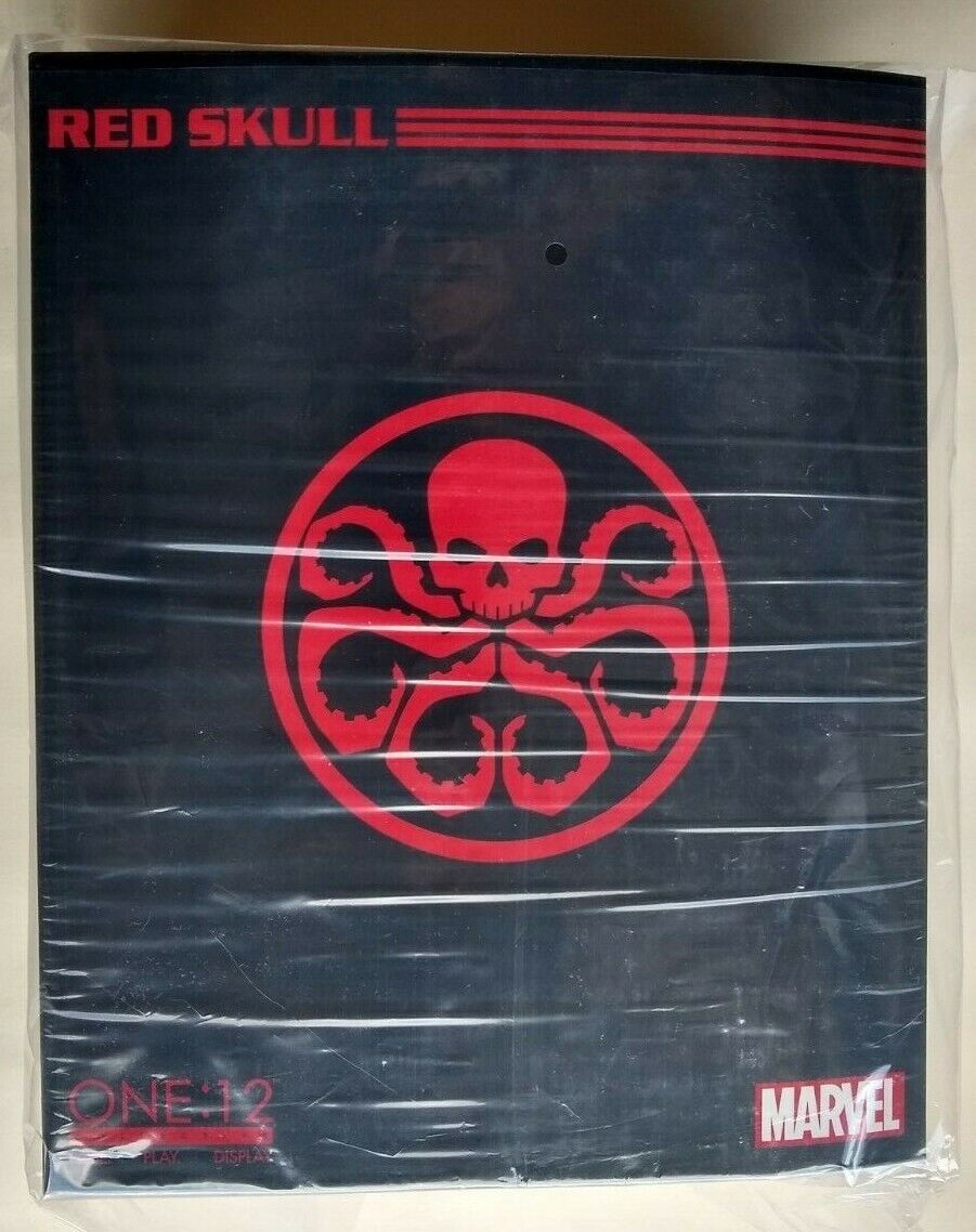 Mezco One 12 Collective rouge  Skull nouveau and Sealed  mode