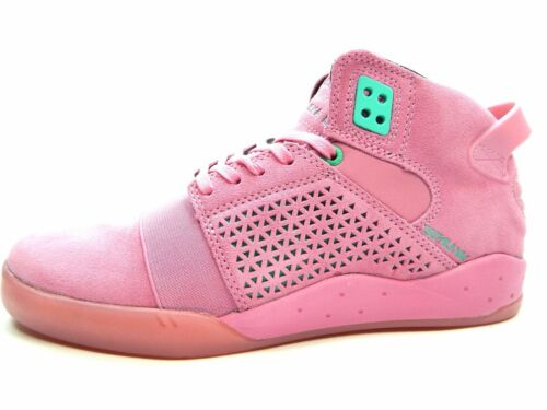 SUPRA SKYTOP III ROSE Comme neuf Hommes 08031-692-M Chaussures