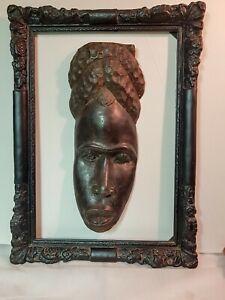 Art-Africain-Arts-Premiers-Masque-DAN-DAN-Mask-Cote-d-039-Ivoire-44cm