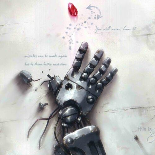"24/"" 20 Fullmetal Alchemist poster wall art home decor photo print 16"