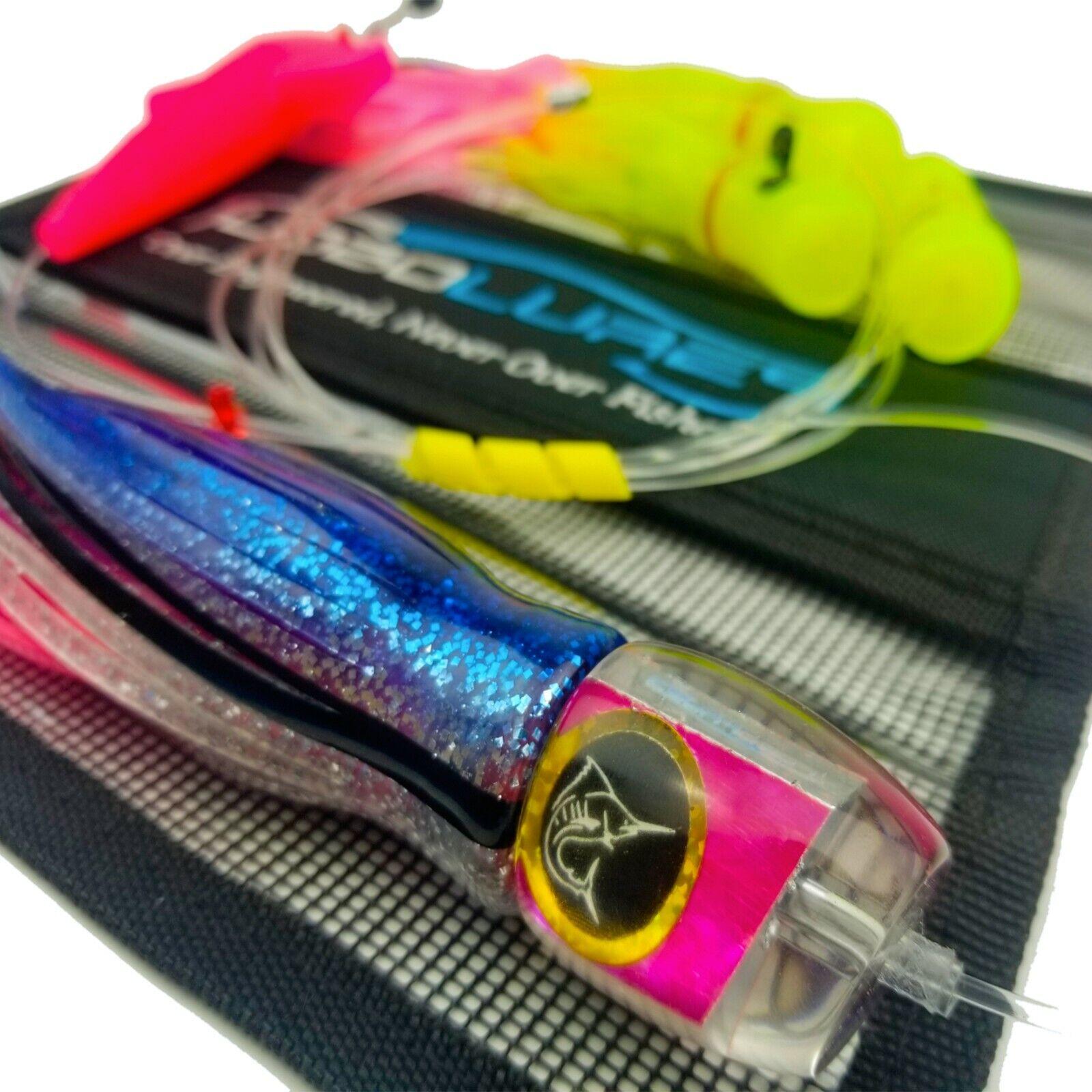 Lobo Lures  202 Bigeye Tuna Candy UV Pelagic Magic & Skipjack Hybrid Daisy Chain
