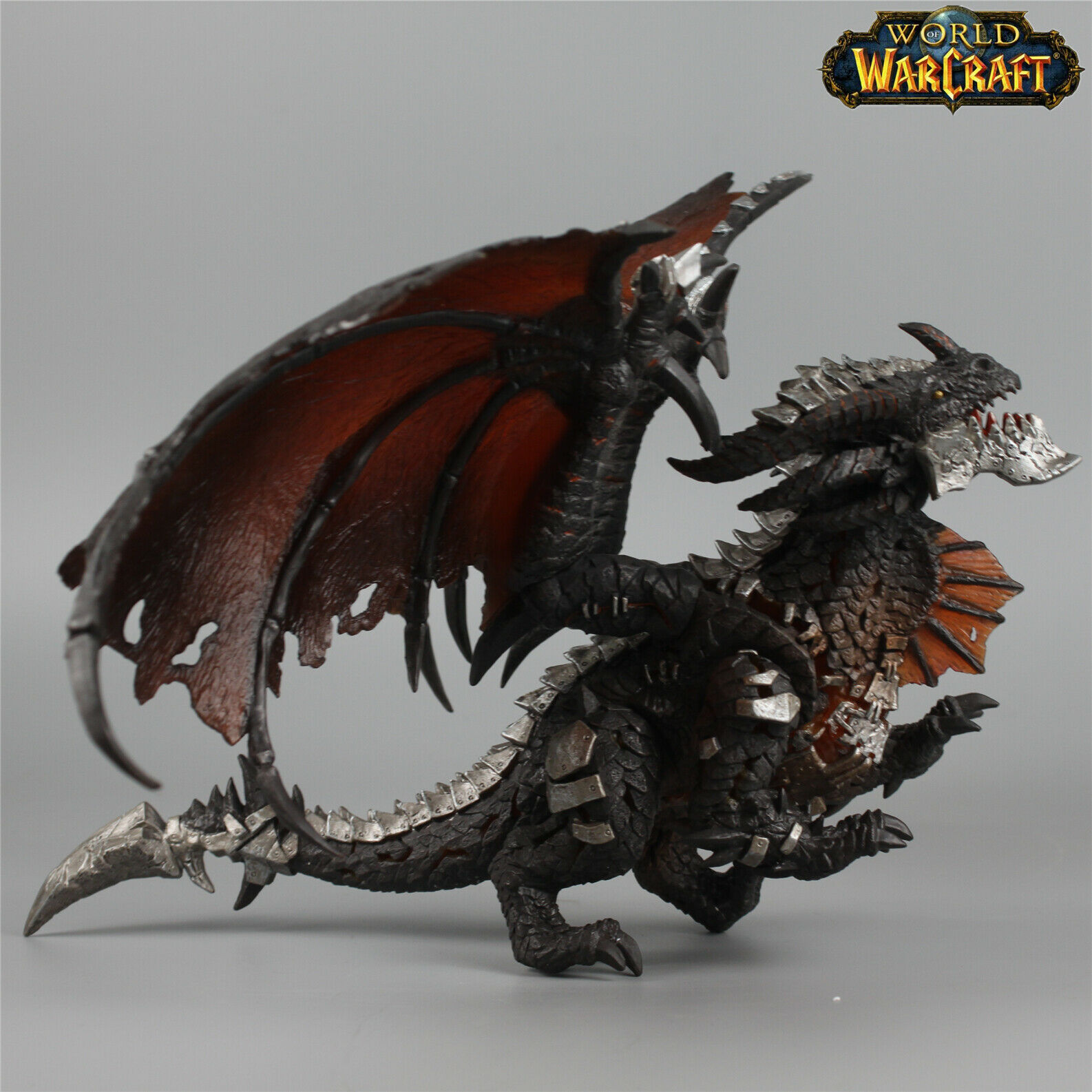 WoW Cataclysm World of Warcraft Neltharion Death Wing with Light Gradient Effect