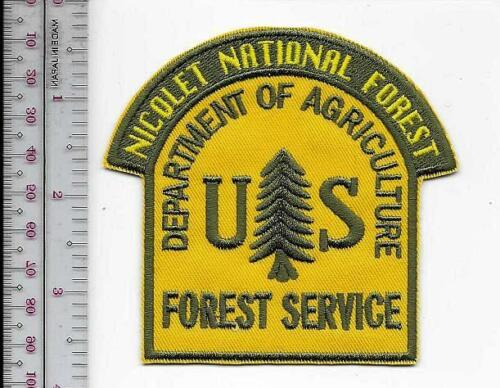 National Forest USFS Wisconsin Nicolet National Forest US Forest Service Winter,