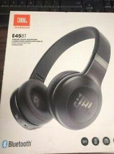 b1e1ceace90 JBL E45BT On-Ear Wireless Headphones (BLACK) RA 50036332347 | eBay