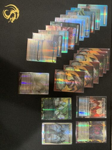 20x Holographic Sliver Dual Lands Pack Full Art