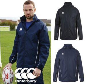 c9b16533 Details about Mens - Canterbury Team Rain Jacket - Full Zip - Resistant  Water - Concealed Hood