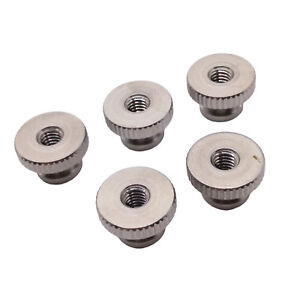 US Stock 5pcs M4 x 0.7mm Stainless Steel Knurled Thumb Nut Right Hand Thread