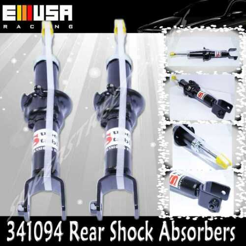 REAR Shock Absorbers for 1992-1995 Honda Civic  341094 BLACK