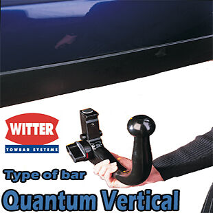 Detachable Tow Bar Witter Towbar for Ford Kuga 2013 Onwards