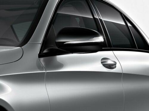 Orig 205 GLC 253 Mercedes-Benz Außenspiegelkappen Spiegelgehäuse schwarz C-Kl
