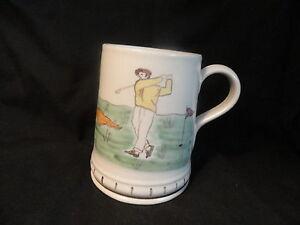Scottish-Golf-Tankard-Mug-Flagon-Buchan-Pottery-Scotland