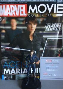 MARVEL MOVIE COLLECTION #26 Agent Maria Hill FIGURINE EAGLEMOSS engl. NEU OVP
