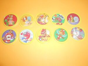 à Condition De 127 Pogs Pog Caps Milkcaps Flippo : Lot De 10 Hoppies Distinctive Pour Ses PropriéTéS Traditionnelles