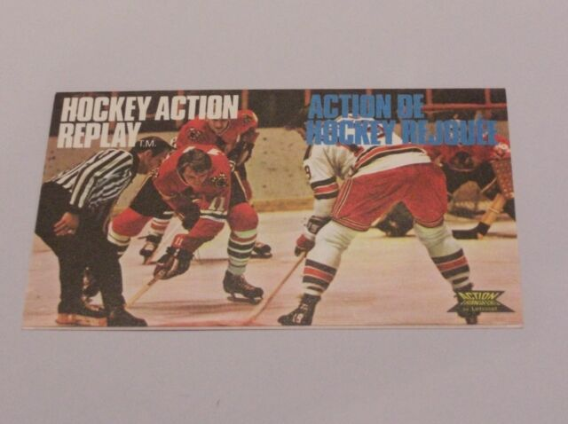 Letraset Action Transfers - ICE HOCKEY ACTION REPLAY - unused Philly v Minn