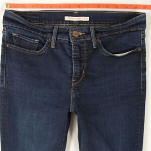 Femmes Jeans Levis 311 Taille Shaping L30 8 W29 Skinny Bleu 19626 Stretch qZf6Aqw