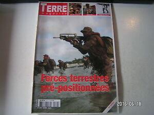 ** Terre Magazine N°162 Forces Terrestres Pre Positionnées / Benin 2004 Volume Large